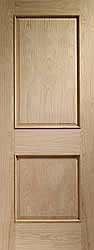 Oak Internal Fenchurch With Raised Mouldings
