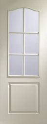 Glazed Internal White Moulded Classique (6 Lite)