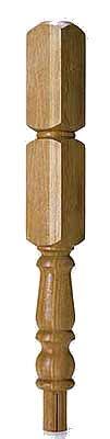 Oak 91mm Newel Turning 430 Head